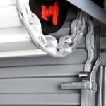 Rolovacia garážová brána materiál oceľ